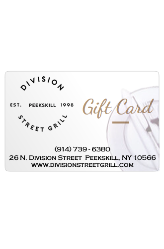 Division Street Grill Gift Card